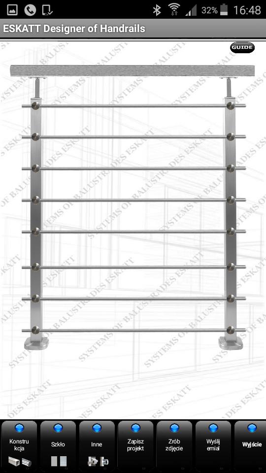Zaprojektuj balustrade