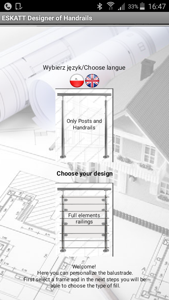 Program do projektowania balustrad